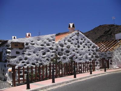 Foto eines typischen Hauses von Gran Canaria