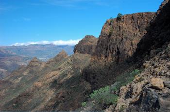 Felsige Wanderung auf Gran Canaria