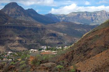 Foto Fataga Richtung Norden