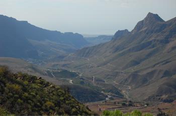 Blick Richtung Süden von Gran Canaria