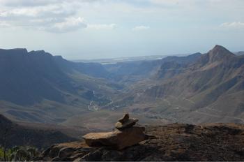 Barranco de Fataga im Süden von Gran Canaria