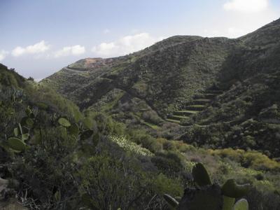 Foto des mittleren Teils des Tals von Cernicalos