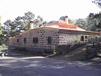 Foto vom Forsthaus im Gebiet von Tamadaba