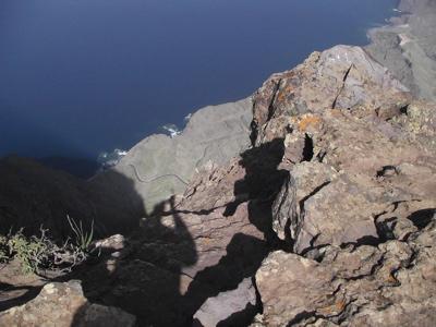 Foto vom Roque zur Strasse nach Agaete