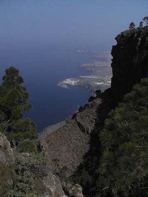 Foto Richtung Norden mit Agaete