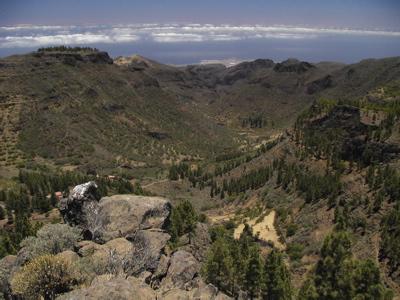 Foto des Barranco de Guayadeque