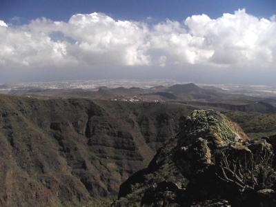 Barranco de Guayadeque auf Gran Canaria