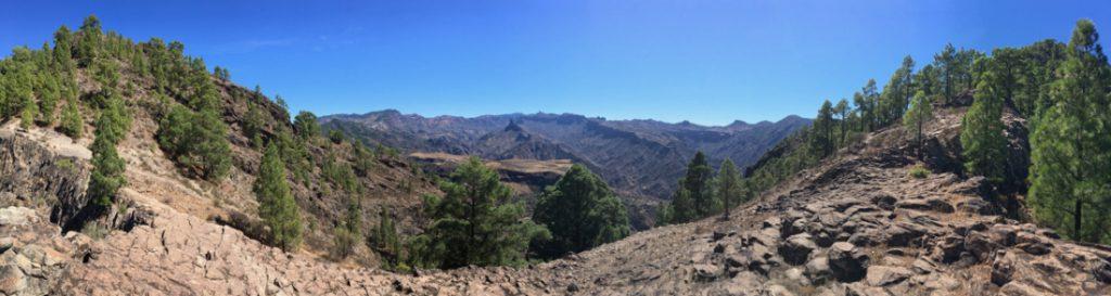 Die Felsen von Lajas del Jabon, Wanderung zum Altavista