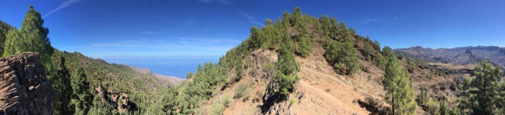 Wanderweg unterhalb vom Risco Alto zum Altavista