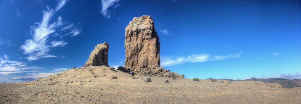 Roque Nublo und Frosch la Rana